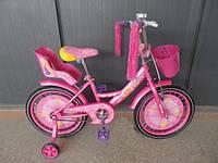 Велосипед детский Girls 16 дюймов Розовый, фото 1