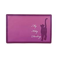 Коврик под миску Trixie «My Kitty Darling» 44 см / 28 см (в цветовом ассортименте)