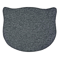 Коврик под миску Trixie 45 см / 37 см (серый)