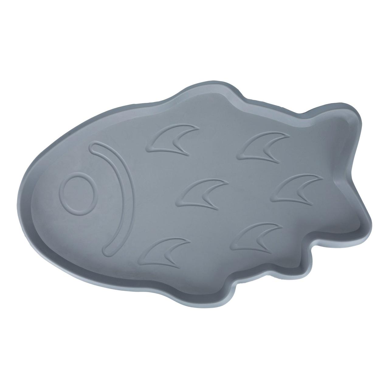 Коврик под миску Trixie 35 см / 22 см (серый)