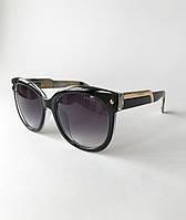 Солнцезащитные очки женские Prada, стильные, модные очки черные