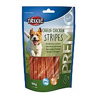 Лакомство для собак Trixie PREMIO Chicken Cheese Stripes 100 г (курица и сыр)