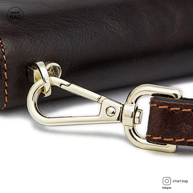 Мужское кожаное портмоне | кожаная шлейка на руку