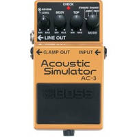 Boss AC3 педаль для гитары, эффект - Acoustic Simulator