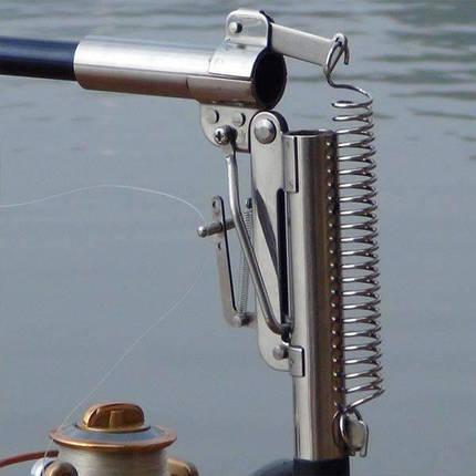 Спиннинг самоподсекающий Automatic Rod телескоп 2.4m с металлическим механизмом, фото 2