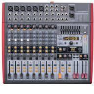 BIG AMP1400 + FX12MP3 + EQ микшерный пульт с усилителем, 2х700Вт, 4Ом