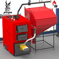 Котел твердотопливный пеллетный РЕТРА-4М COMBI 32 кВт (с факельной горелкой)