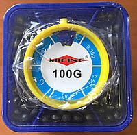 Рыболовные грузила (дробь) 100g
