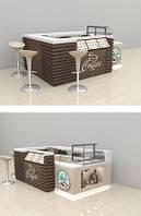 Торговый островок под кофе