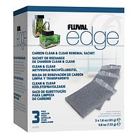 Наполнитель для фильтра Fluval «Edge» активированный уголь (3 x 45 г)