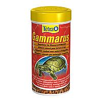 Натуральный корм для водоплавающих черепах Tetra «Gammarus» сушёный гаммарус 250 мл