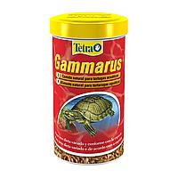 Натуральный корм для водоплавающих черепах Tetra «Gammarus» сушёный гаммарус 1 л