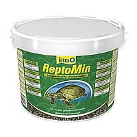 Сухой корм для водоплавающих черепах Tetra в палочках «ReptoMin» 10 л