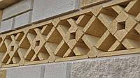 Бетонные заборы из декоративных блоков