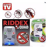 Отпугиватель тараканов, грызунов насекомых  RIDDEX Quad Pest Repelling Aid