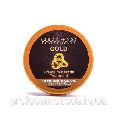 Кератин Gold от торговой марки Cocochoco 100мл