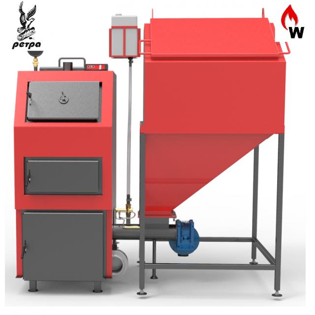 Котлы с автоматической подачей топлива Ретра-4М (RETRA -4M с ретортной горелкой)