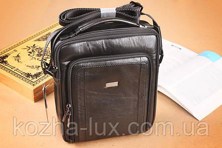 Мужская большая сумка из натуральной кожи, Италия , фото 2