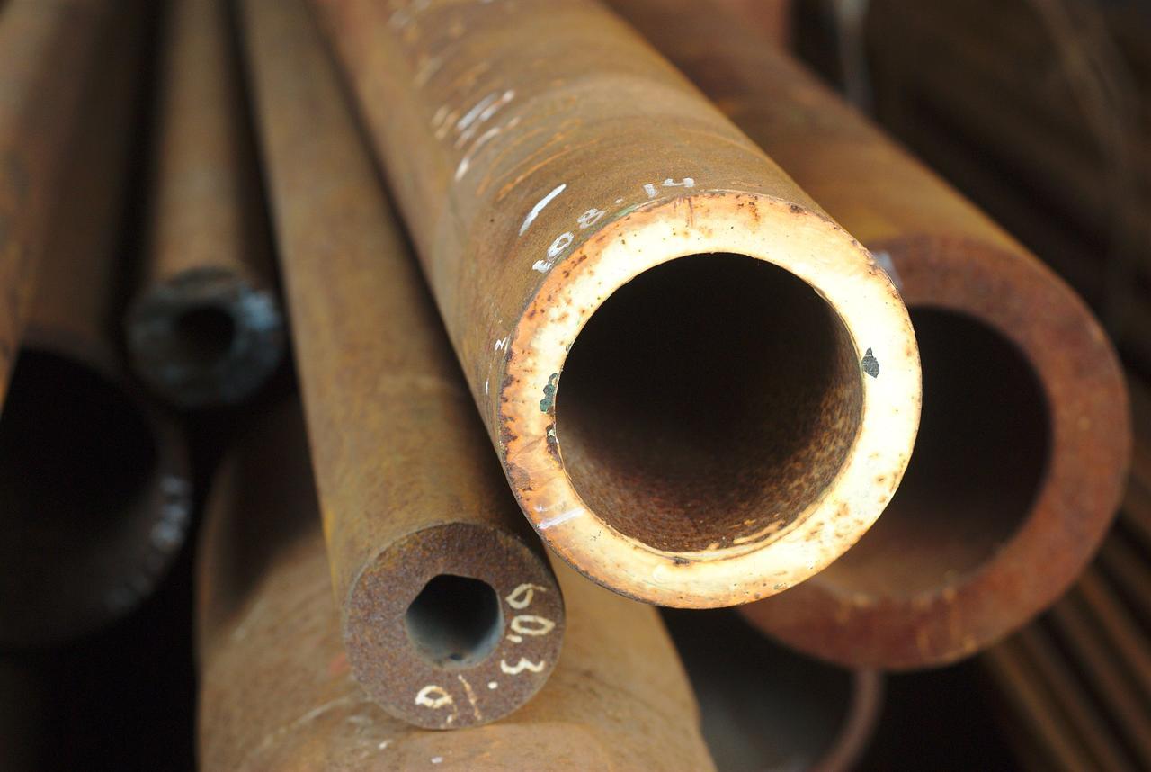 Труба бесшовная 108х14 мм 17Г1С ГОСТ 8732