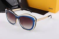 Солнцезащитные очки в стиле Fendi 1566 (blue)
