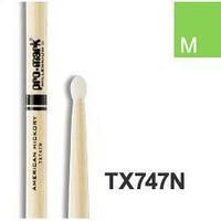 Pro-Mark TX747N Hickory 747N барабанные палочки, нейлоновый наконечник