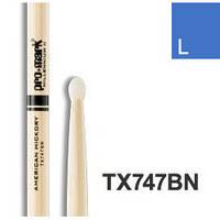 Pro-Mark TX747BN Hickory 747BN барабанные палочки, нейлоновый наконечник