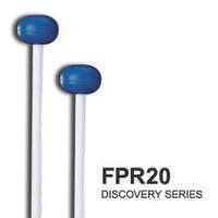 Pro-Mark FPR20 палочки для ксилофона/металлофона, Discovery/Orff Series - Medium Blue Rubber