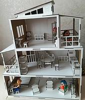 Кукольный дом Особняк с мебелью