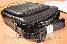 Мужская сумка вместительная из натуральной кожи, фото 2