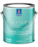 """Краска Harmony Eg-Shel Sherwin-Williams интерьерная экстра белая с эффектом """"яичной скорлупы"""", 3,63л"""
