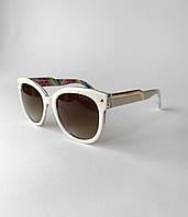 Солнцезащитные очки женские Prada, стильные, модные очки белые