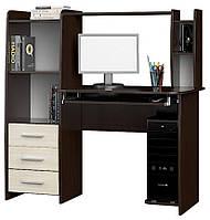 Стол компьютерный ✅ Лира Эверест 125х60х125 см