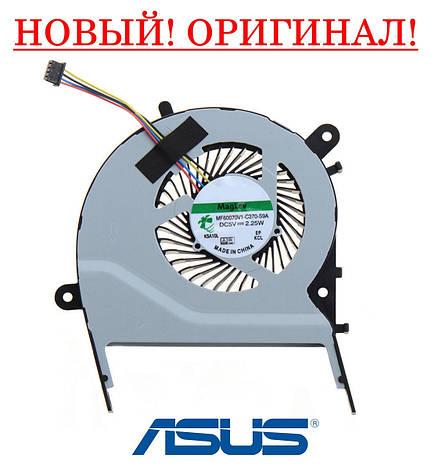Оригинальный вентилятор (кулер, FAN) для ноутбука ASUS X555SJ, X555UA, X555UB, X555UF, фото 2