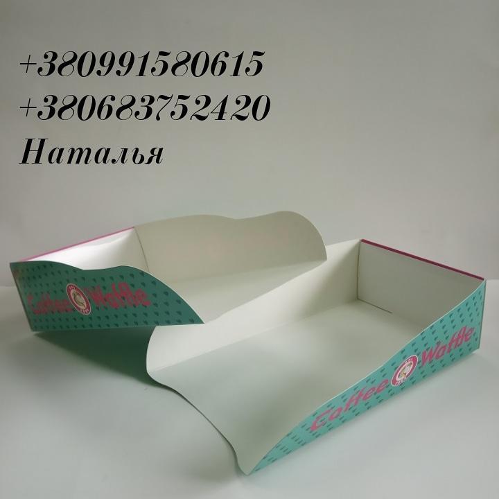 Упаковка для бельгийсих вафель 185х105х45мм