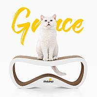 Картонна кігтеточка-лежанка, дряпка Grace Say Meow