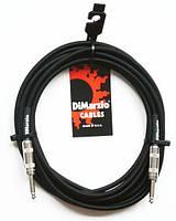 DiMarzio EP 1718SS BK кабель для электрогитары J6,3 - J6,3 (6m)