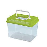 Ferplast Geo medium пластиковый контейнер для рыб, 2.5л