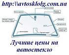 Стекло лобовое, заднее, боковые для Citroen C4 (Хетчбек) (2010-), фото 5