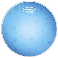 "Evans TT12HB Hydraulic Blue прозрачный двухслойный пластик 12"""