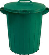 Контейнер для сміття REFUSE CONTAINER 90L зелений (Curver)