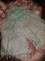 Церковный кружевной шарф 40*170