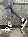 Женские замшевые кроссовки Adidas Gazelle 3 расцветки, фото 10