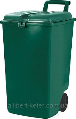 Контейнер для сміття MOBILE REFUSE BIN 90L зелений (Curver)