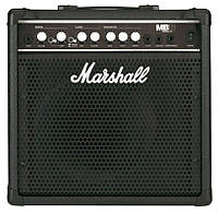"Marshall MB15 комбоусилитель для бас гитары, 15 Вт, 1х8"""
