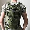 Тактический Штурмовой Военный Рюкзак Oxford 600D 25, Олива, фото 2