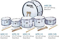 "Maxtone MBC26 маршевый бас-барабан, 26""х12"""