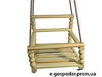 Дитяча дерев'яна гойдалка (Бук)