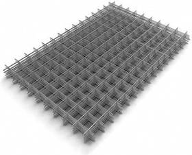 Сетка сварная (кладочная) ячейка 115х115 мм, размер 1х2 м, проволока 2,6 мм