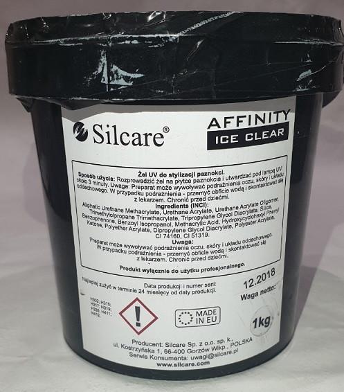 Гель Silcare AFFINITY ICE cleare 1кг. Польша