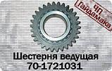 70-1721031  Шестерня ведущая понижающего редуктора z=20/30   кпп мтз, фото 2